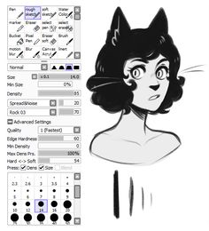 Example of Paint Tool Sai