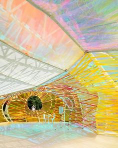 Jim Stephenson - Architectural and Interiors Photographer -   Photos and Video - The Serpentine Pavilion 2015 by SelgasCano