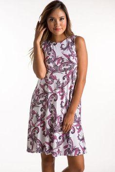 Paisley Dress - 686PLIS - Gil's Clothing & Denim Bar