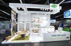 Provamel exhibition stand