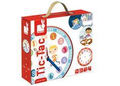 leerrijk spel om de tijd te leren Janod | kinderen-shop Kleine Zebra