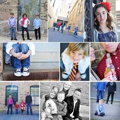 Portrait Photography Inspiration : Urban family photos