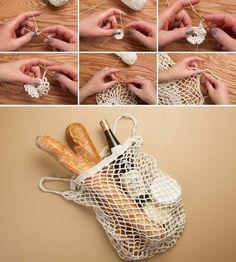 DIY Crocheting Market Bag