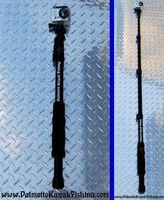 Palmetto Kayak Fishing: Kayak Fishing Monopod Conversion for GoPro and other Cameras - DIY kayak camera mount