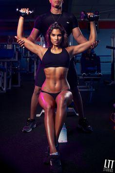 Inspirational Female Body. #woman #fitness #sport