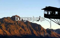 #bungee jumping