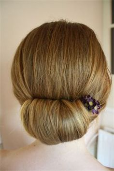 Chignon tutorial