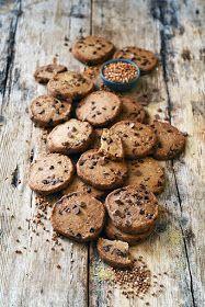 Dorian cuisine.com Mais pourquoi est-ce que je vous raconte ça... : Sablés chocolat et sarrasin parce qu'il me reste encore du chocolat... beaucoup de chocolat! Dorian Cuisine, Chocolat Valrhona, Gateaux Cake, Cookies Et Biscuits, Tea Time, Muffins, Healthy Recipes, Healthy Food, Sweets