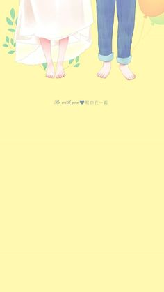 Couple Wallpaper, Colorful Wallpaper, Girl Wallpaper, Cartoon Wallpaper, Cute Wallpapers, Wallpaper Backgrounds, Iphone Wallpaper, Couple Illustration, Illustration Art