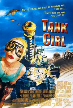 """Tank Girl"" Movie Poster by Dawn Patrol"