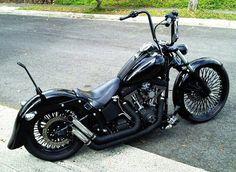 Harley Davidson Ape Hanger Custom