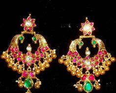 Jewellery Designs: chand balis