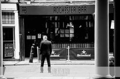 Father of the Bride waiting outside Rochester Guildhall Museum – Wedding Photography by Clare Kentish Photographer, Rayleigh, Essex