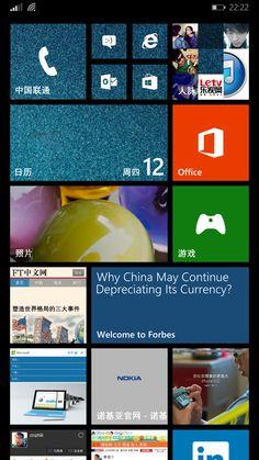 A Personal Windows Phone Start Screen