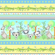 3331-41 , Koala Party by Swizzle Stick Studio, Studio E Fabrics, Inc.