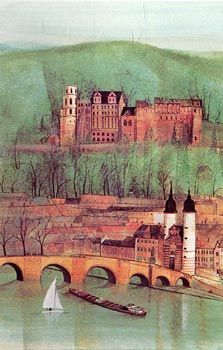 Heidelberg...my childhood home. Even as a little girl, I knew it was a wondrous place to live.