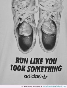 Run Like You Took Something :) #Funny Motivational #Fitness #Quote