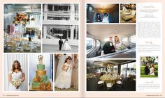 Roaring 20's Center Club Costa Mesa wedding featured in Ceremony Magazine http://www.eventsbykatherine.com