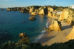 Praia de Dona Ana (Lagos) Portugal, Water, Outdoor, Lakes, The Beach, Places, Gripe Water, Outdoors, Outdoor Living
