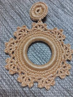 """Earrings... """"22"""" Crochet Jewelry Patterns, Crochet Jewellery, Crochet Earrings, Crochet Bikini Pattern, Holiday Fun, Diy Gifts, Crochet Baby, Bracelet Watch, Handmade"""