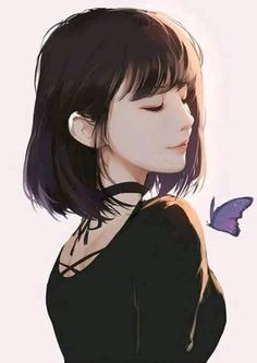 Marvelous Learn To Draw Manga Ideas. Exquisite Learn To Draw Manga Ideas. Kawaii Anime, School For Good And Evil, Estilo Anime, Fan Art, Anime Art Girl, Anime Girls, Anime Girl Short Hair, Manga Girl Sad, Short Hair Girls