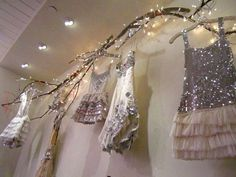 beautiful display | free people nashville look great all over ceiling especially with solar lights