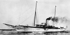 """The Gilded Age Era: the Vanderbilt.s.  Each Year, At Grace's Urging, The Vanderbilts Sailed """"The North Star"""" To Those Ports Where They Would Most Likely Be Seen By Royalty"""