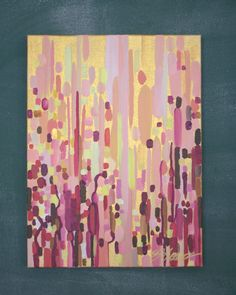 Rosselini Abstract Painting by pippinandpearl on Etsy $200