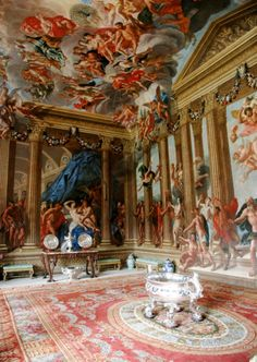 Burghley House - one of the fantastic rooms