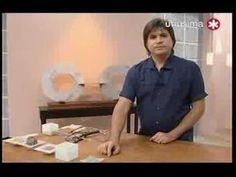 Galeria de artesanos centro de mesas cemento - YouTube
