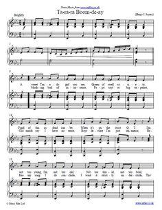 Ta-ra-ra Boom-de-ay credited to Henry J. Sayers - download free sheet music