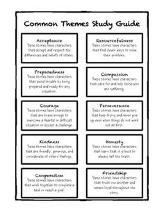 common themes in poetry