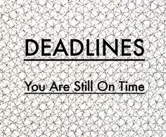 Bit Deadlines web.
