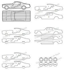 The Horsepower GT scroll saw plans – My Way Toy Design
