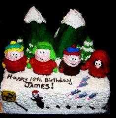 Cartman, Kyle, Stan, and Kenny.
