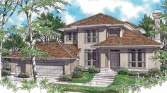 Eplans Contemporary-Modern House Plan - Well On A Sloping Site - 2225 Square Feet and 3 Bedrooms(s) from Eplans - House Plan Code HWEPL68361