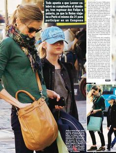 Queen Letizia, Princesses Leonor and Sofia in Madrid