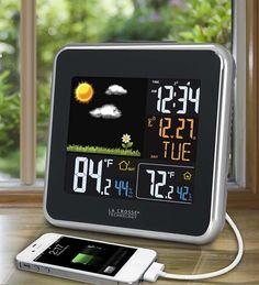 La Crosse Technology®'s Atomic Color Wireless Weather Station