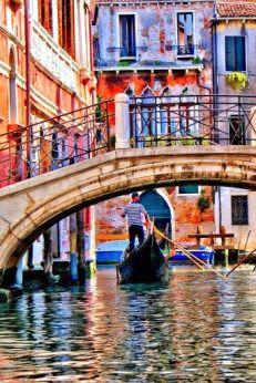 Venice ~ Waterstreets of Venice Pinterest