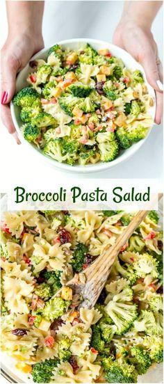 Cajun Delicacies Is A Lot More Than Just Yet Another Food Broccoli Salad Recipe - Broccoli Salad Easy - Salad Broccoli - Loaded Broccoli Salad - Broccoli Recipes Salad - Salad With Broccoli - Broccoli Pasta Salad - Healthy Broccoli Salad - Broccoli Salads Healthy Recipes, Easy Salads, Healthy Salad Recipes, Summer Salads, Vegetarian Recipes, Easy Meals, Cooking Recipes, Salads For Bbq, Summer Salad Recipes
