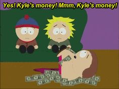 Kyle's money