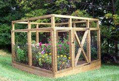 Allotment | Amy Lewis | Vegetable Garden Fence Plans | Backyard Vegetable Garden fenced in. www.pinterest.com