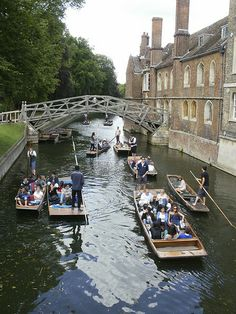 Punting in Cambridge. Cambridge Punting, Olympus Digital Camera, England, Tours, Memories, Adventure, World, Places, Travel