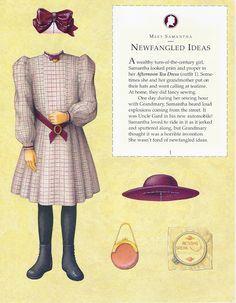 american girl samantha paper dolls - Google Search