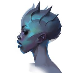 Daily Dose of Design Inspiration For this Daily we are selecting in digital art, graphic design, photography, illustration and more; Portrait Sketches, Portrait Art, Portraits, Alien Character, Character Art, Character Illustration, Illustration Art, Illustrations, Alien Concept Art