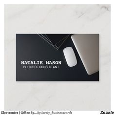 Electronics   Office Space Desk Business Card