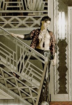 I don't usually go for emo dudes with leather pants circa 1988, but when I do, it's Tristan Duffy. Finn Wittrock American Horror Story: Hotel