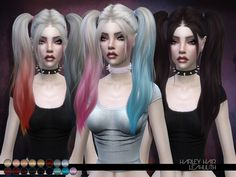 Leah Lillith's LeahLillith Harley Hair