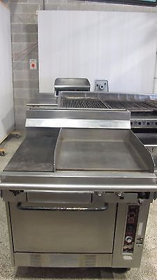 WOLF CONVECTION GAS RANGE OVEN WITH PLANCHA GRIDDLE tx160400370