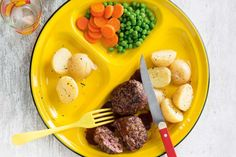 Old-fashioned beef rissoles